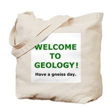 Geology Welcome 3 Tote Bag