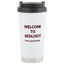 Geology Welcome 4 Travel Mug