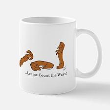 Dachshund - How do I love Thee Mug