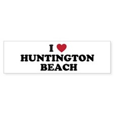 I Love Huntington Beach Bumper Sticker