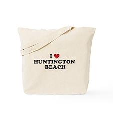 I Love Huntington Beach Tote Bag
