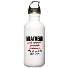 Meathead and prood Water Bottle