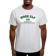 Wood Elf Dept: Ash Grey T-Shirt