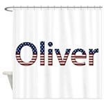 Oliver Stars and Stripes Shower Curtain