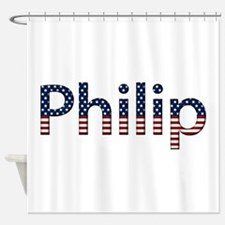 Philip Stars and Stripes Shower Curtain