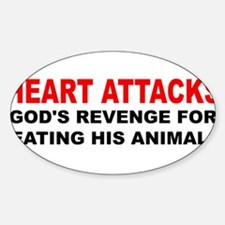 heart attacks Decal