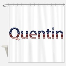Quentin Stars and Stripes Shower Curtain