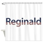 Reginald Stars and Stripes Shower Curtain
