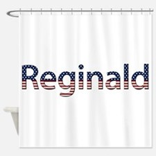 Reginald Stars and Stripes Shower Curtain