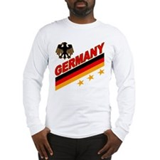 Germany World Cup Soccer Long Sleeve T-Shirt