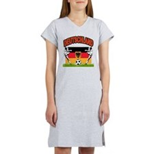 Germany World Cup Soccer Women's Nightshirt