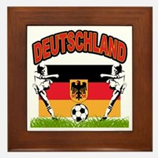 Germany World Cup Soccer Framed Tile