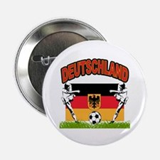 """Germany World Cup Soccer 2.25"""" Button (10 pack)"""