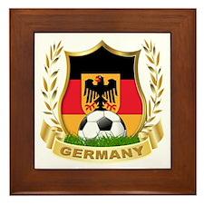 Germany World Cup Soccer Framed Tile