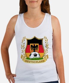 Germany World Cup Soccer Women's Tank Top