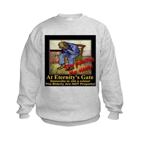 At Eternity's Gate Kids Sweatshirt