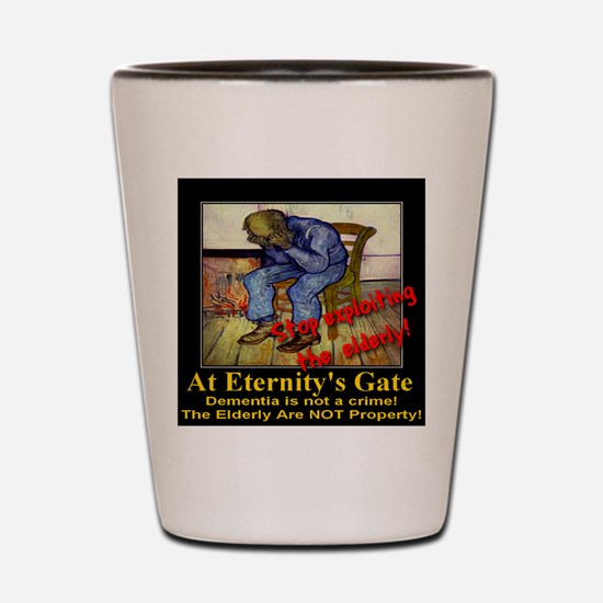 At Eternity's Gate Shot Glass