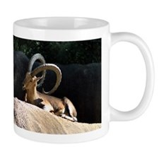 Nubian Ibex showing off his good side Mug