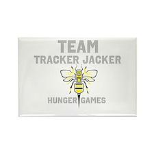 Tracker jacker Rectangle Magnet