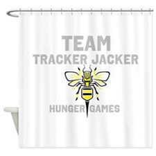 Tracker jacker Shower Curtain