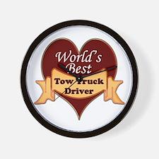 Unique Tow truck driver Wall Clock