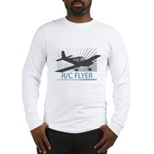 RC Flyer Low Wing Airplane Long Sleeve T-Shirt