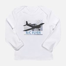 RC Flyer Low Wing Airplane Long Sleeve Infant T-Sh