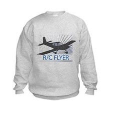 RC Flyer Low Wing Airplane Sweatshirt