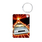 Matter of Time Aluminum Photo Keychain