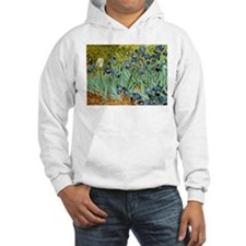 Van Gogh Irises Hoodie