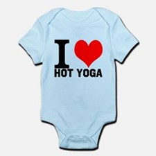 I Love Hot Yoga Infant Bodysuit