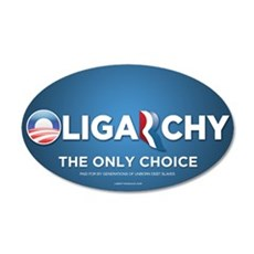 Oligarchy 2012 22x14 Oval Wall Peel