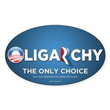 Oligarchy 2012 Decal