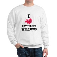 vintage I heart Catherine Willows.png Sweatshirt
