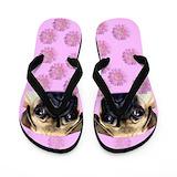 Pugs Flip Flops