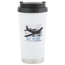 RC Flyer Low Wing Airplane Travel Mug