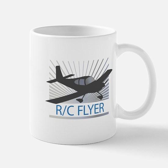 RC Flyer Low Wing Airplane Mug