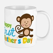 father's day gifts for new dads monkey mug