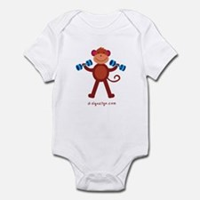 Workout Infant Bodysuit
