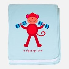 Workout baby blanket