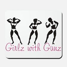 Girlz with Gunz Mousepad