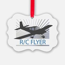RC Flyer Low Wing Airplane Ornament