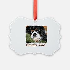 Cavalier Dad Ornament
