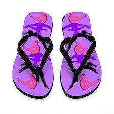 Trampoline Gymnast Flip Flops