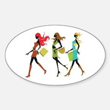 Ultimate Diva's Day Out Sticker (Oval)