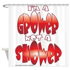 grower.png Shower Curtain