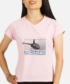 Aircraft R22 Helicopter Performance Dry T-Shirt