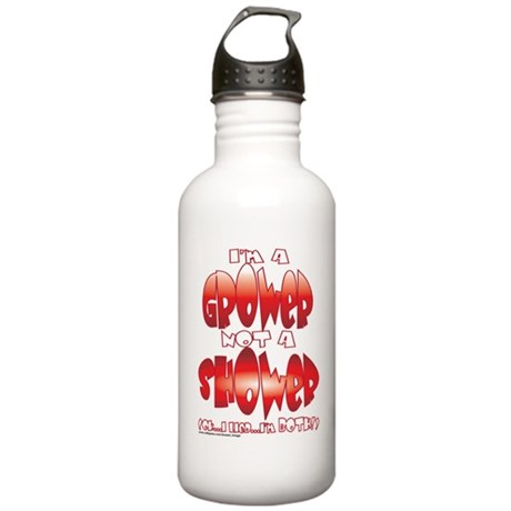 grower_shower_both.png Stainless Water Bottle 1.0L