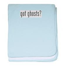 got ghosts baby blanket
