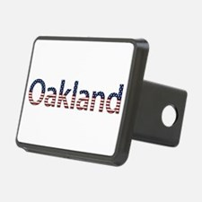 Oakland Stars and Stripes Hitch Cover